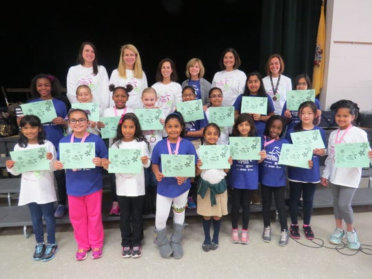 For the third year in a row, The Wardlaw-Hartridge School in Edison conducted Girls on the Run, a national program promoting health and self-esteem, after school. Seventeen girls in grades 3 to 5 worked together with the help and support of six Lower School teachers to gain insight on how to develop goals, be assertive, and gain a greater sense of self through running and team building activities. One of culminating events for this program was the Girls on the Run 5K, which took place in Somerville on Nov. 23. The final component of this program is to complete a service activity. The girls will be running a drive to collect food for the Somerset Regional Animal Shelter when they return from the holiday break in January.