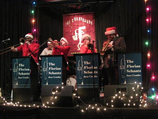The Florian Schantz Jazz Combo performs a benefit for the New Jersey Workshop for the Arts in December at Crossroads in Garwood.