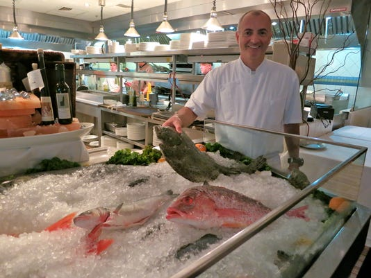 ChefOwner Fabrizio Aielli at his restaurant Seasalt.JPG
