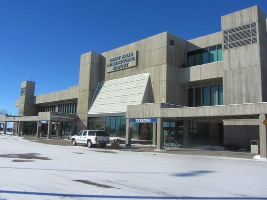 Great Falls airport exterior