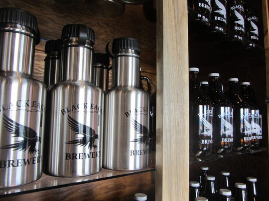 Black Eagle Brewery, 1602 25th Ave. N.E., has a tap room that is open from noon to 8 p.m. daily, serving beer, soft drinks and offering growlers, T-shirts and other merchandise.