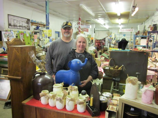 Jack and Denise Jenkins, the owners, love the adventure of buying and selling, and talking with customers old and new.