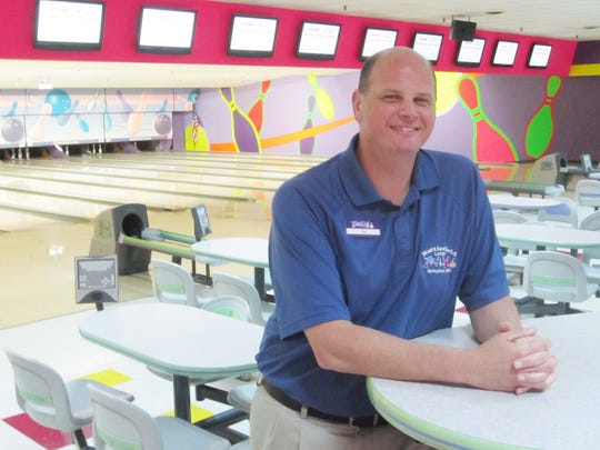 JR Huyck, general manager at Battlefield Lanes, will continue managing after the business becomes an Andy B's Luxury Bowling and Multi-Tainment Complex.