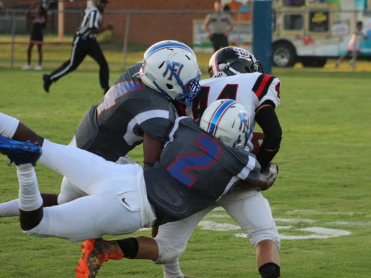 North Forrest has won five games in a row despite fielding a team with less than 25 players.