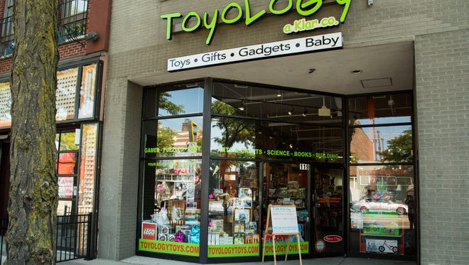 Toyology is thriving and growing, despite trouble for Toys R Us.
