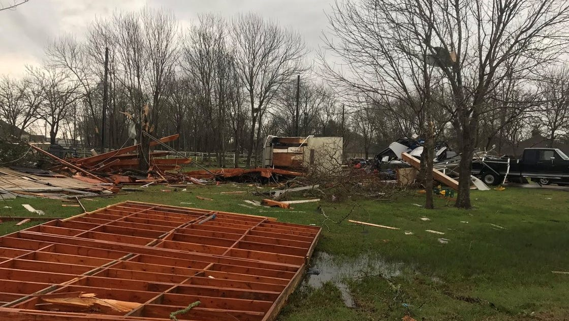 Tornado Reported Near Houston As Severe Storms Batter Texas