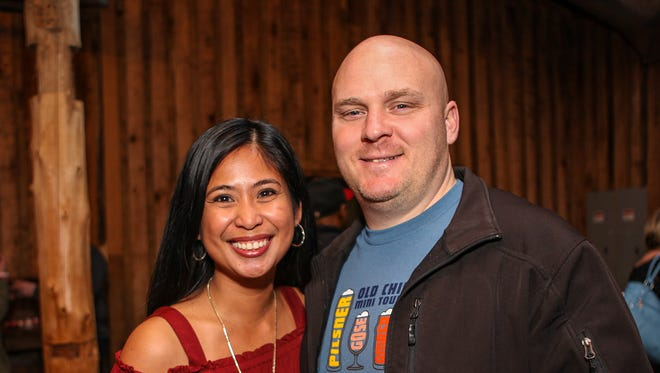 Lupe and Shane Cameronat the second annual Battle of the Brews benefiting Kymari House. The event was held Tuesday, Feb. 13 at The Grove at Williamson Place in Murfreesboro.