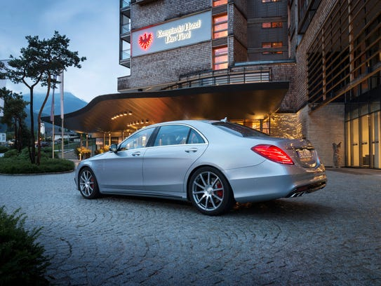 Mercedes S63 rear