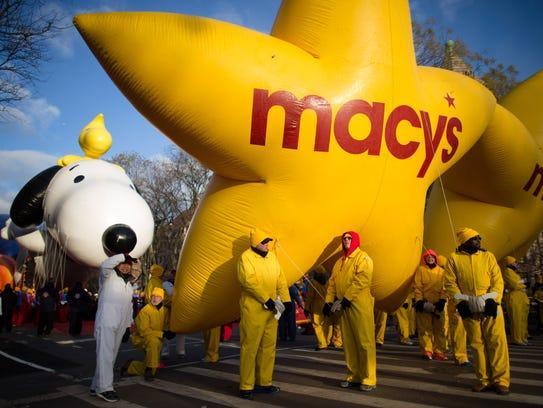 AP APTOPIX Thanksgiving Day Parade