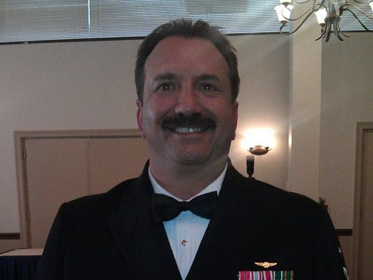 "Earl Galloway, retired Navy command master chief petty officer, who works with a national network of veterans who pursue accusations of ""stolen valor"" and other tall tales of military service by individuals."