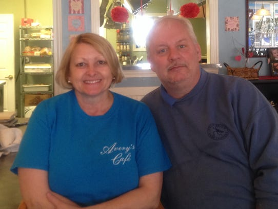 Scott and Josie Kluding, as the new managers of the