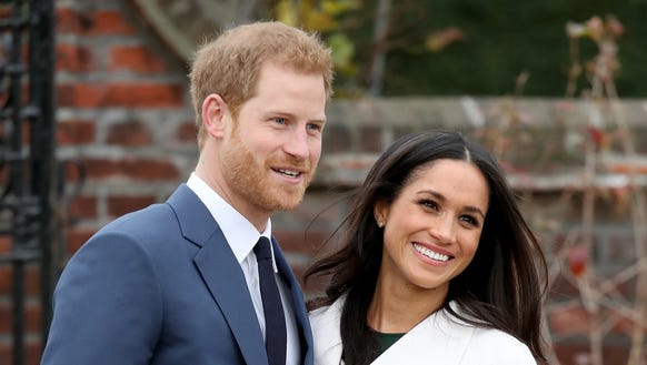 Prince Harry and his fiancée, Meghan Markle, announced