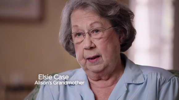 Elsie Case stars in a political ad for her granddaughter, U.S. Senate candidate Alison Lundergan Grimes