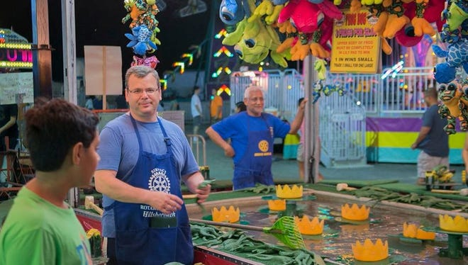 The Rotary Club of Hillsborough's annual fair will feature games, rides, food and more.