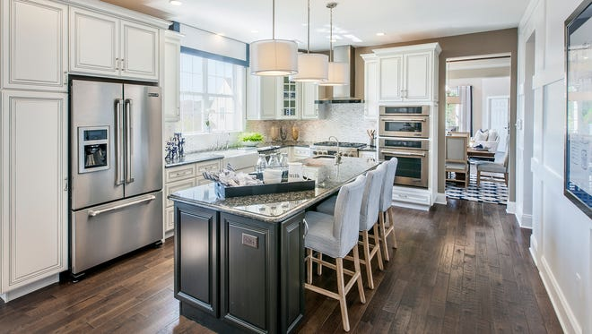 The Raritan is one of three new models grand opening at Regency at Readington, an active-adult community from Toll Brothers