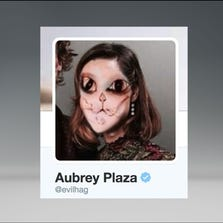 Aubrey Plaza twitter profile picture
