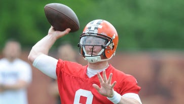 Connor Shaw has been released by the Cleveland Browns, according to a post on the former South Carolina quarterback's Twitter account.