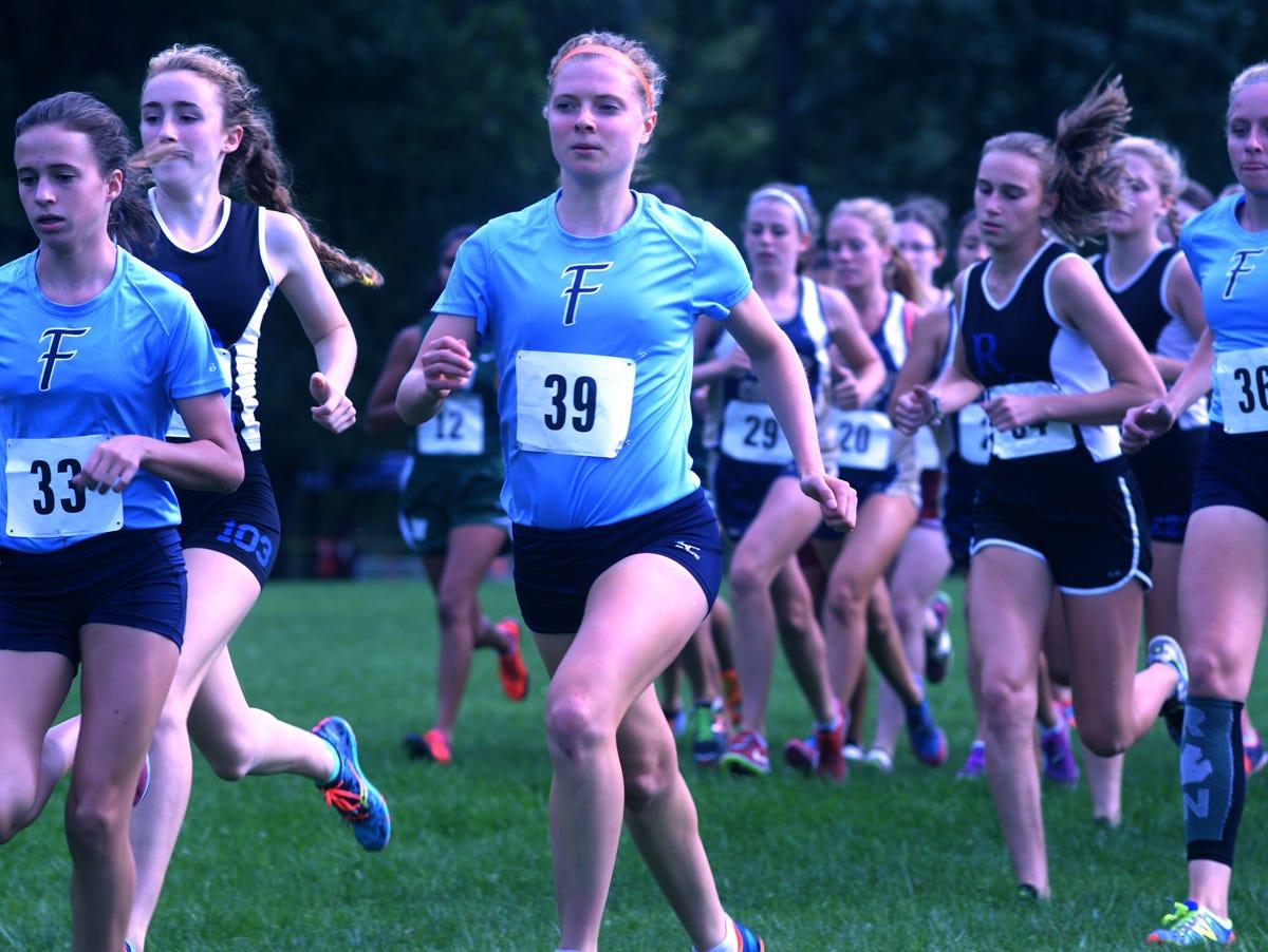 2015 All-Observer girls cross country team