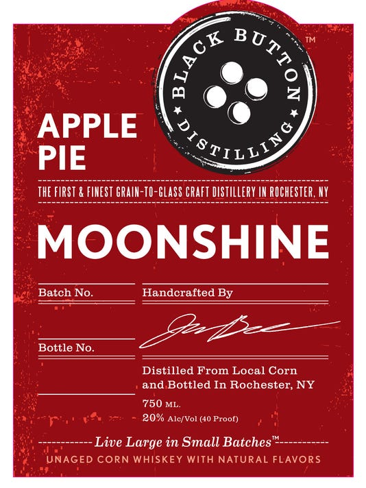 Party At Black Button To Launch Apple Pie Moonshine