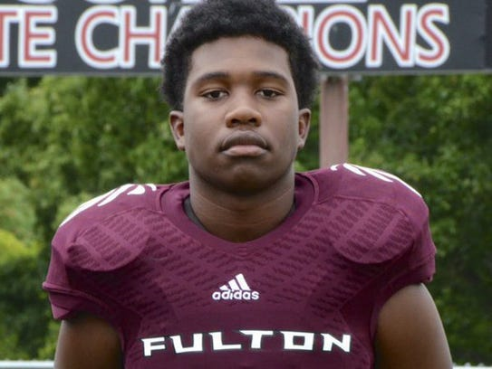 Zaevion Dobson, a 15-year-old Fulton High School student,