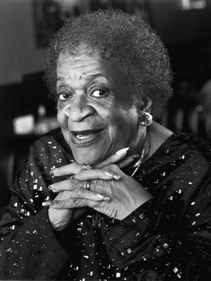 Detroit's Queen of Blues, Alberta Adams, is nominated for Female Artist of the Year, in the traditional blues category, for the 23rd Annual W.C. Handy Blues Awards, to be held on May 23, 2002 in Memphis, Tennessee. She recorded on Cannonball Records.