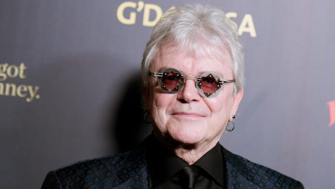 Russell Hitchcock, lead vocalist of Air Supply, at a Los Angeles gala in January. He and Graham Russell will perform in Branson Oct. 9, 2016.