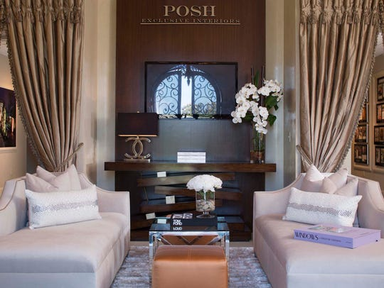 Interior of POSH Interiors corporate offices, Lafayette,