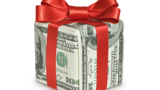 Holiday spending can be a financial challenge for some