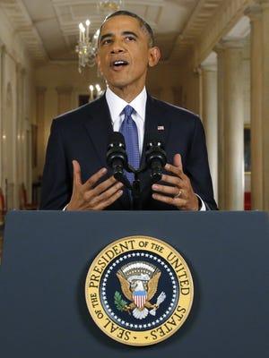 President Obama on Thursday night.