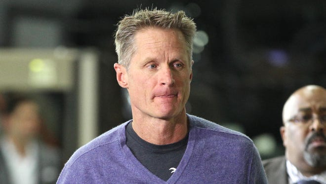 Warriors head coach Steve Kerr had back surgery about two years ago and has been dealing with complications.