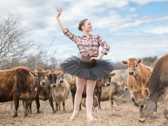 Dancer Megan Stearns will perform with Farm to Ballet