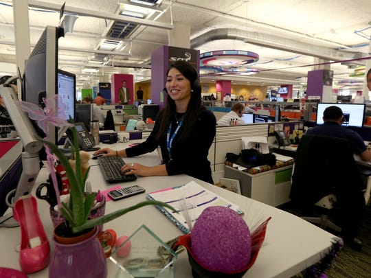 Lilliana Gonzalez, 27, of Detroit is a presidents club power banker at Quicken Loans, which means she can handle all aspects of a loan process at the lender, which reported a drop in mortgages this year.