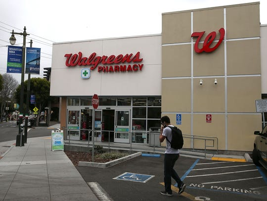 Walgreens will be taking over area Rite Aid stores and pharmacies.