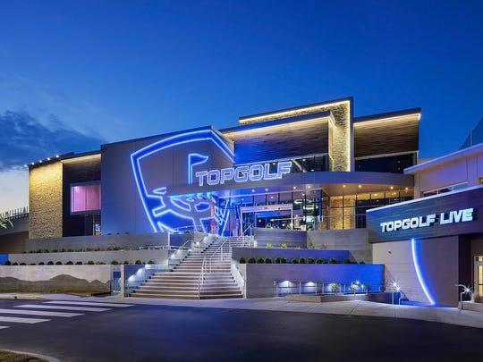 Topgolf opened in Nashville in September 2017.