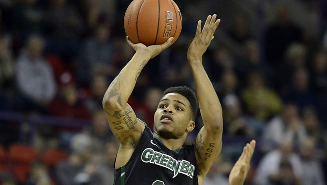 UW-Green Bay's Keifer Sykes joined former Phoenix standout Tony Bennett as the only players in program history with 2,000 career points.