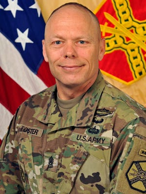 Fort Campbell Command Sergeant Major Noel Foster