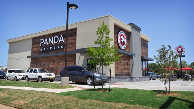 The new Panda Express restaurant opened Friday on Lawrence Road adjacent to Walmart. The location is one of nine Panda Express restaurants in the state.