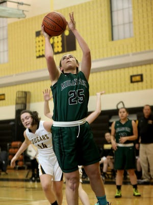 Midand Park senior F Veronica Pantale racked up 10 points, 13 rebounds and six assists to help the Panthers defeat Eastern Christian, 50-36, in the NJIC tournament championship game on Saturday.