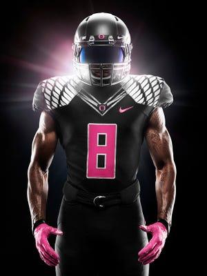 Oregon will wear pink against Arizona.