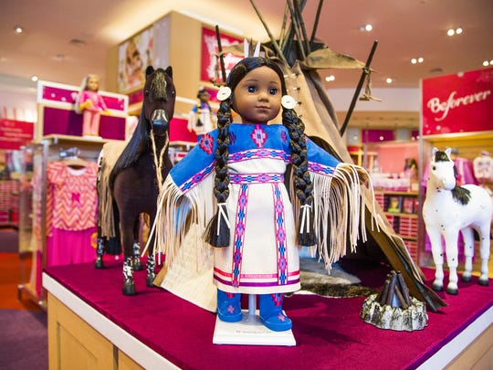 Historically inspired dolls are front and center at