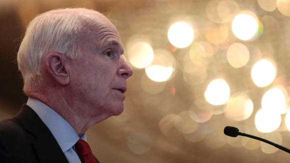 Sen. John McCain, R-Ariz., came out with a blistering