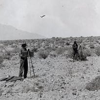 Old Southern Pacific Railroad photos; Coachella, Indio, Salton Sea