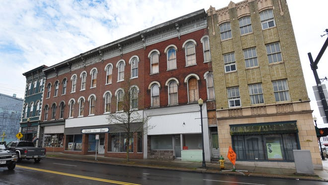 There's new hope for buildings on the 600 block of Main Street after city officials and the owner of the buildings met Monday night to discuss a path forward and officials said they thought the buildings could be saved.