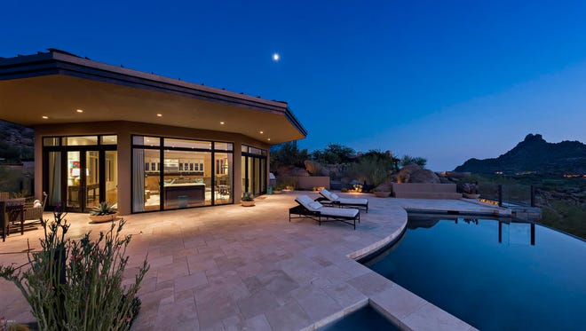 Mark Eleoff, CEO of the Toronto financial firm Eden Park Inc., paid $4 million for this 6,400-square-foot home in north Scottsdale's Estancia community.