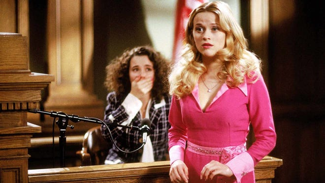 "Reese Witherspoon, right, and Linda Cardellini star in ""Legally Blonde"" (2001)."