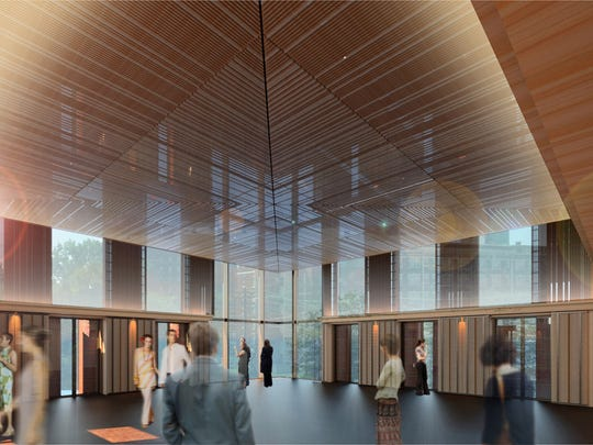 A rendering shows the planned entry for the Owsley