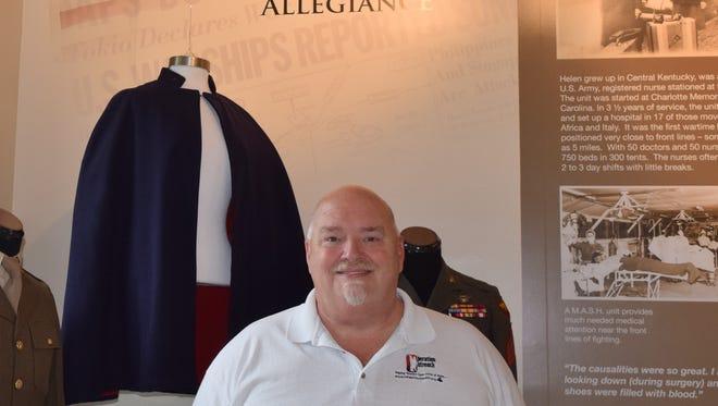 John Mustain, organizer for the annual Kentucky Veterans of the Year Award program that recognizes veterans for their community service.
