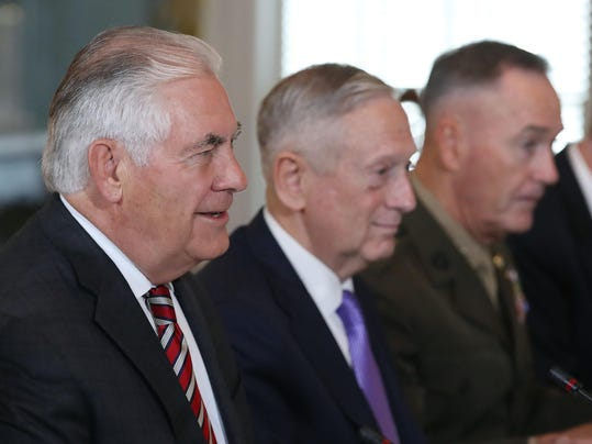 Secretary Of State Rex Tillerson And Defense Secretary Mattis Host U.S.-China Diplomatic and Security Dialogue Conference