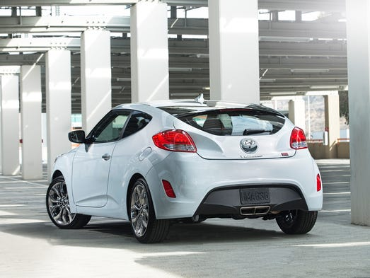 Hyundai Veloster keeps its great looks