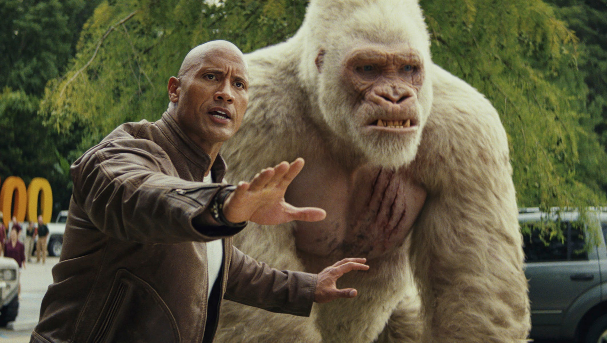 Rampage Spoilers We Went Berserk About The Rock S Altered Ending